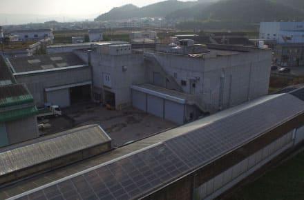 ヴァイオス桃山リサイクルセンター外観